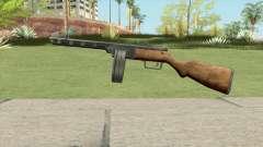 PPSH-41 Submachine Gun (WW2) for GTA San Andreas