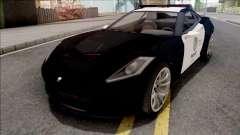 GTA 5 Invetero Coquette Police for GTA San Andreas