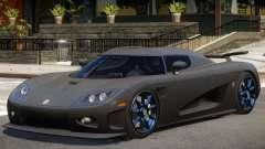 Koenigsegg CCXR Carbon for GTA 4