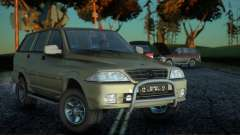SsangYong Musso 2.3 for GTA San Andreas