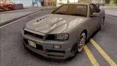 Nissan Skyline GT-R R34 2000 Omori Factory S1 for GTA San Andreas