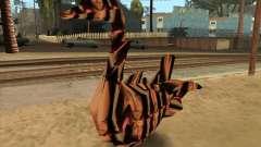 Professor Lebedinsky in the form of a shape-shifter-Swan for GTA San Andreas