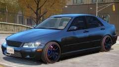 Lexus IS300 Stock for GTA 4
