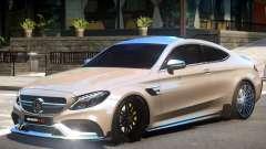 Mercedes Benz C63 V1.2 for GTA 4