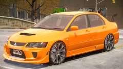 Mitsubishi Lancer Evolution VIII Sport for GTA 4