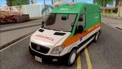 Mercedes-Benz Sprinter 2013 Ambulancia v3 for GTA San Andreas