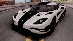 Koenigsegg One:1 2014 Lowpoly for GTA San Andreas