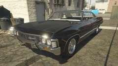 Chevrolet Impala 1967 Supernatural for GTA 5