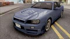 Nissan Skyline GT-R R34 2000 Omori Factory S1 v2 for GTA San Andreas