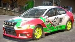 Lancer Evolution X V1 PJ1 for GTA 4