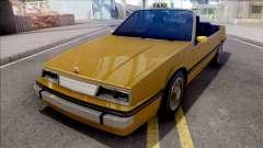 GTA IV Willard Cabrio Taxi for GTA San Andreas