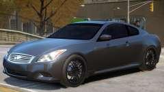 Infiniti G37 Coupe V1 for GTA 4