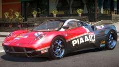 Pagani Huayra V1.1 PJ2 for GTA 4