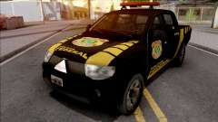 Mitsubishi L200 Triton 2010 Policia Federal for GTA San Andreas