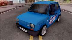 Fiat 126p Milkyway