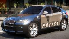 BMW X6 Police for GTA 4
