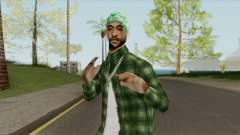 Groves Gangsta Ped (SA Style) for GTA San Andreas