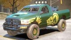 Dodge Power Wagon Baja V1 PJ2 for GTA 4