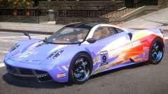 Pagani Huayra V1.1 PJ3 for GTA 4