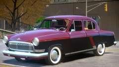 1965 GAZ 21 for GTA 4