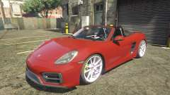 2016 Porsche Boxster GTS 1.0 for GTA 5
