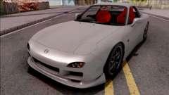 Mazda RX-7 Drift Grey for GTA San Andreas