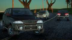 SsangYong Musso 3.2 for GTA San Andreas