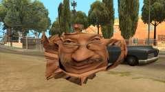 Alexander Rosenbaum in the form of a flying teapot for GTA San Andreas