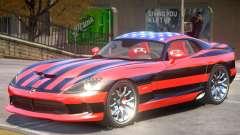 Dodge Viper GTS V1.0 PJ1 for GTA 4