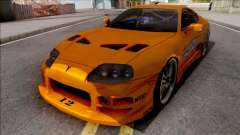Toyota Supra Fast & Furious with O.Z Wheel
