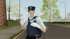 Japanese Police Skin for GTA San Andreas