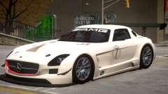 Mercedes Benz SLS GT3 V1 PJ2 for GTA 4