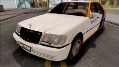 Mercedes-Benz S600L W140 Yandex Drive for GTA San Andreas