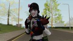 Harley Quinn: The Mad Jester V2 for GTA San Andreas