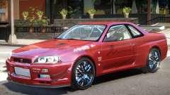 Skyline R34 V1 for GTA 4