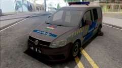Volkswagen Caddy Magyar Rendorseg v2 for GTA San Andreas