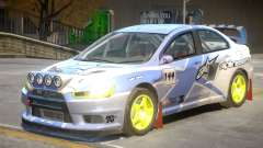 Lancer Evolution X V1 PJ3 for GTA 4