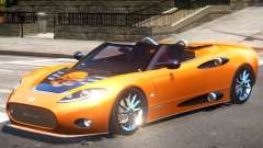 Spyker C8 V1.1 PJ3 for GTA 4