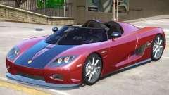 Koenigsegg CCX Roadster V1 for GTA 4