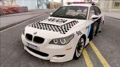 BMW M5 E60 Policia Metropolitana Argentina