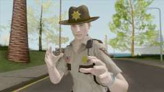 Leon Arklay Sheriff (RE2 Remake) for GTA San Andreas