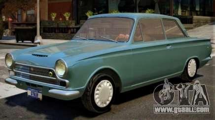 1963 Lotus Cortina V1 for GTA 4