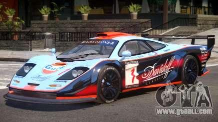 McLaren F1 V1.1 PJ3 for GTA 4