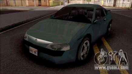 Vauxhall Tigra SA Style for GTA San Andreas