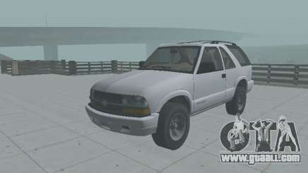 Chevrolet Blazer 2001 for GTA San Andreas