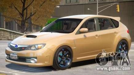 Subaru Impreza WRX STI Hatchback for GTA 4