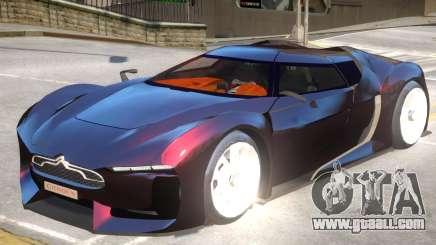 Citroen GT Custom for GTA 4
