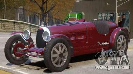 1925 Bugatti Type 35C V1 for GTA 4