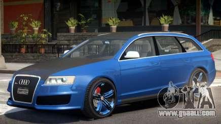 Audi RS6 Avant R1 for GTA 4