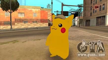 Pikachu Gopnik for GTA San Andreas